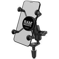 RAM Mounts X-Grip-Halterung zur Befestigung am Motorradlenker - Handyhalter