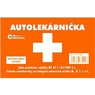 COMPASS Lekárnička I. plastová pro slovenský trh - Autoverbandkasten