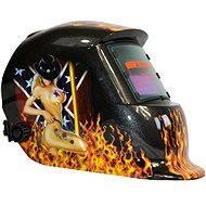 Kukla svářecí samostmívací -SHARKS Hot - Maske