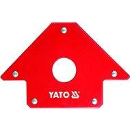 YATO Úhelník magnetický ke svařování 22,5 kg s otvorem - Halterung