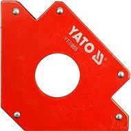 YATO Úhelník magnetický ke svařování 34 kg s otvorem - Halterung