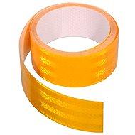 Klebeband 1m x 5 cm reflektierend gelb - Band