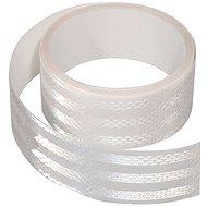 Samolepící páska reflexní 1m x 5cm bílá - Band