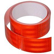 Samolepící páska reflexní 1m x 5cm červená - Band