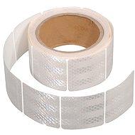 COMPASS Samolepící páska reflexní dělená 5m x 5cm bílá (role 5m) - Band
