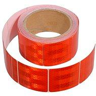 COMPASS Samolepící páska reflexní dělená 5m x 5cm červená (role 5m) - Band