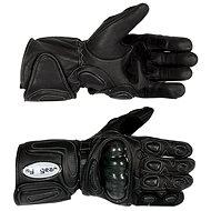 Rukavice moto TECH kožené s protektory vel.M - moto Handschuhe