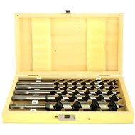 Vrtáky hadovité do dřeva, sada 6ks, 6-250mm, délka 230mm, v dřevěné kazetě - Bohrer