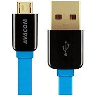 AVACOM MIC-120B microUSB 120 cm blau - Kabel