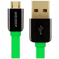 AVACOM MIC-120G microUSB 120 cm grün - Datenkabel
