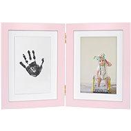 GOLD BABY Öffnungsrahmen für Tintenstrahldruck - pink - Abdruck-Set