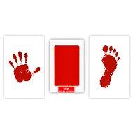 GOLD BABY Set für Kinderdrucke - rot - Abdruck-Set
