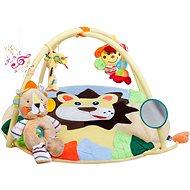 Baby Decke PlayTo mit Teddybär und Spielzeug - Kinderdecke