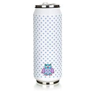 BANQUET BE COOL Owl 430 ml, blau - Thermosflasche