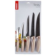 Banquet Messerset TRINITY, 5-tlg., braun - Messer-Set