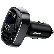 Baseus T-tpyed S-09 Wireless MP3 Car Charger Black - Autoladegerät