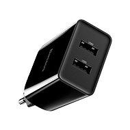 Netzladegerät Baseus Speed Mini QC Dual USB Quick Charger 10,5W Black - Nabíječka do sítě