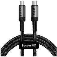 Baseus Cafule Series Type-C PD USB-C 3.1 Gen1 Cable 60W (20V / 3A) 1m Gray+Black - Datenkabel