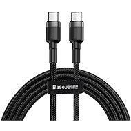Baseus 60W USB-Ladekabel 1 m grau / schwarz - Datenkabel