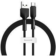 Baseus Silica Gel Cable USB to Type-C (USB-C) 2m Schwarz - Datenkabel