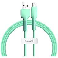 Baseus Silica Gel Cable USB to Type-C (USB-C) 1m Grün - Datenkabel