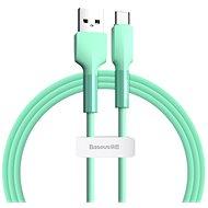 Baseus Silica Gel Cable USB to Type-C (USB-C) 2m Grün - Datenkabel