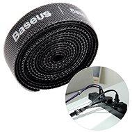 Baseus Rainbow Circle Velcro Straps 1m Schwarz