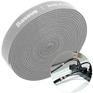 Baseus Rainbow Circle Velcro Straps 1m Grau
