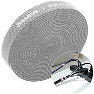 Kabelorganizer Baseus Rainbow Circle Velcro Straps 3m Grau