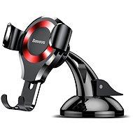 Handyhalter Baseus Osculum Type Gravity Car Holder black/red