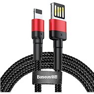 Baseus Cafule Lightning Cable Special Edition 1.5A 2M Red+Black - Datenkabel