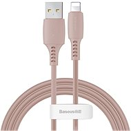 Baseus Colourful Lightning Cable 2.4A 1.2m Pink - Datenkabel