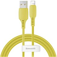 Baseus Colourful Lightning Cable 2.4A 1.2m Yellow - Datenkabel