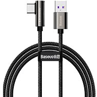 Baseus Elbow Fast Charging Data Cable USB to Type-C 66W 2m Black - Datenkabel