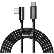 Baseus Elbow Fast Charging Data Cable Type-C to Type-C 100W 1m Black - Datenkabel