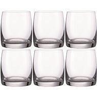 BOHEMIA CRYSTAL IDEAL Whiskeyglas 290 ml - 6 Stück - Whiskeygläser