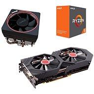 AMD Action Pack 3: VGA + CPU + Kühlkörper - Set