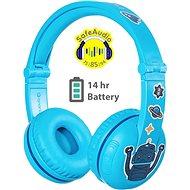 BuddyPhones Play, blau - Drahtlose Kopfhörer
