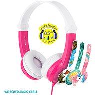 BuddyPhones Connect, pink - Kopfhörer