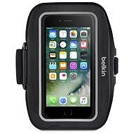 Belkin Sport-Fit Pro Armband - Blacktop/Gravel für iPhone 7 Plus und iPhone 8 Plus - Handyhülle