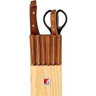 BERGNER 13-teiliges Messerset NATURAL KNIFE BLOCK - Messer-Set