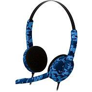 Bigben PS4HEADSETCAMOB blaue Tarnung - Headset