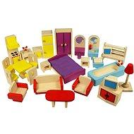 Bigjigs Holzmöbel für Puppenstuben - Spielset