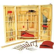 Holzkoffer mit Junior-Werkzeugen - Kinderwerkzeug