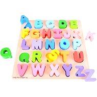 Didaktisches Spielzeug Hölzernes motorisches Bildungsspielzeug - Alphabet - Didaktická hračka