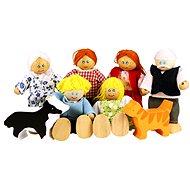 Puppenfamilie fürs Puppenhaus - Figurenset