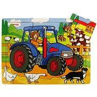 Holzpuzzle - Traktor - Puzzle
