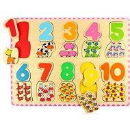 Holzpuzzle Zahlen lernen II - Puzzle