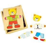 Holzpuzzle in einer Schachtel - Mr. Bear - Puzzle