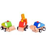 Barevná autíčka na natahování - Car-Set